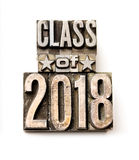 Class of 2018 Royalty Free Stock Images