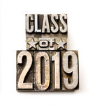 Class of 2019 Stock Photo