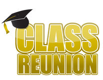 Class reunion Graduation cap Royalty Free Stock Photo