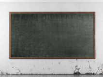 Class room with blackboard Stock Photos