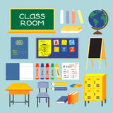 CLASS ROOM Stock Photo