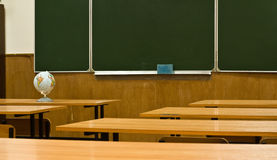 Class is at school Royalty Free Stock Photo