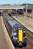 Class 380 Scotrail electric multiple unit train Stock Photography