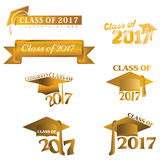 Class of 2017 Royalty Free Stock Photo