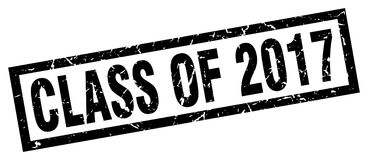 Class of 2017 stamp. Class of 2017 grunge vintage stamp isolated on white background. class of 2017. sign stock illustration