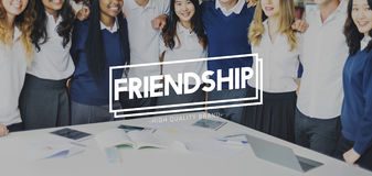 Class Students Friends Education Concept Royalty Free Stock Photos