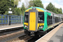 Class 172 Turbostar diesel multiple unit Stock Photography