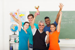 Class wining trophy Stock Photography