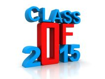 Class of 2015 Royalty Free Stock Photos