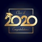 Class of 2020 year graduation banner