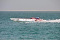 Classe 1 emballant dans Doha Qatar Photos libres de droits