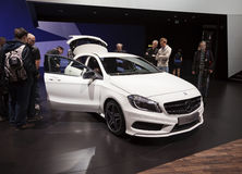 Classe A 2012 de benz de Mercedes Photographie stock
