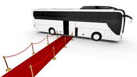 CLASSE ALTA Buss Imagens de Stock