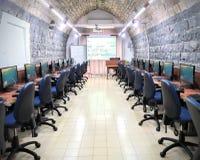 Classe antica del computer Fotografie Stock Libere da Diritti