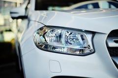 Classe blanche de Mercedes-Benz X image libre de droits