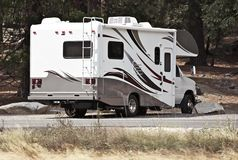 Classe C Motorhome Images stock