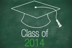 Classe conceptuelle de la déclaration 2014 Image stock
