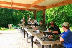 Classe d'armes à feu Images stock