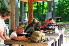 Classe das armas de fogo Fotografia de Stock