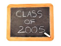 Classe de 2005 Photo stock