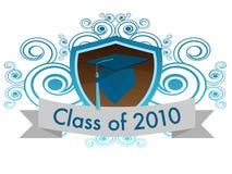 Classe de 2010 Fotografia de Stock Royalty Free
