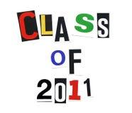 Classe de 2011 Photos libres de droits