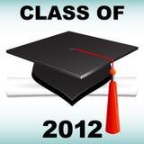 Classe de 2012 Photo libre de droits