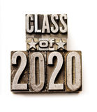 Classe de 2020 Photo stock