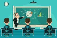 Classe de apresentação do negócio Imagens de Stock Royalty Free