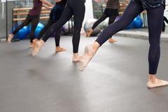 Classe de ballet Photo libre de droits