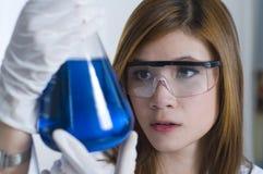 Classe de chimie Image stock