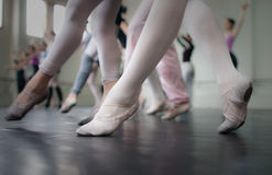 Classe de dança! Foto de Stock Royalty Free