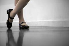 Classe de dança da torneira Imagens de Stock Royalty Free