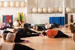 Classe de danse pour des femmes Photos libres de droits