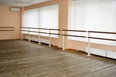 Classe de danse vide Image stock