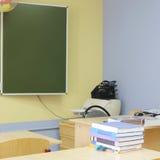 Classe de escola vazia foto de stock