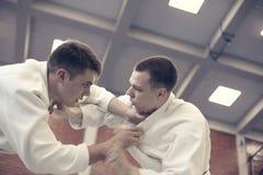 Classe de judo photo stock