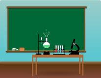 Classe de la Science Photographie stock