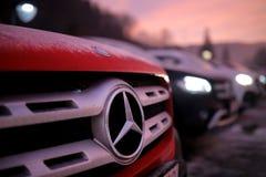 Classe de Mercedes-Benz X image libre de droits
