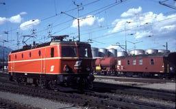Classe de OBB 1044, não 51 - Buchs, 1980 Fotos de Stock