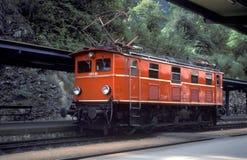 Classe de OBB 1180, não 01 - Feldkirch, 1980 Imagens de Stock