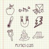 Classe de physique Photos libres de droits