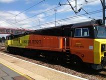 Classe 70 del treno alla stazione di Camridge Immagini Stock