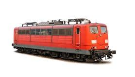 Classe 151 della locomotiva delle ferrovie tedesche isolata su bianco Fotografia Stock