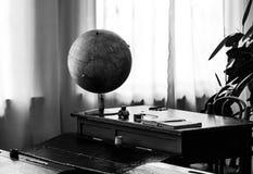 Classe della scuola sovietica di 50 volte 60 anni di in bianco e nero Fotografie Stock