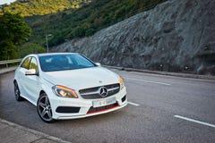 Classe A di Mercedes-Benz fotografia stock libera da diritti