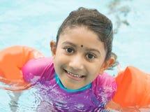 Classe di nuoto Immagini Stock