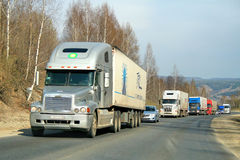 Classe di secolo di Freightliner Fotografia Stock Libera da Diritti