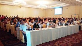 Classe do seminário/reunião do negócio em Phuket Tailândia Foto de Stock