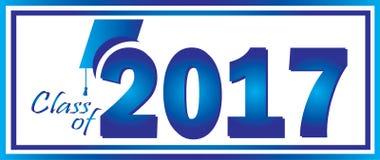 Classe du bleu 2017 Image libre de droits